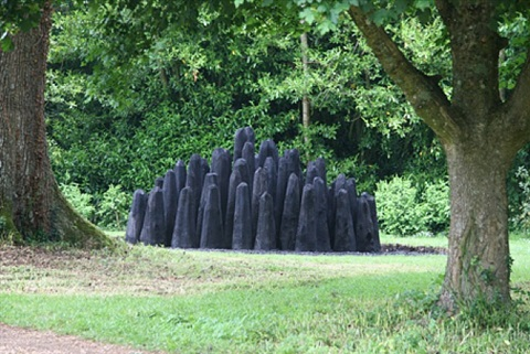 black dome by david nash