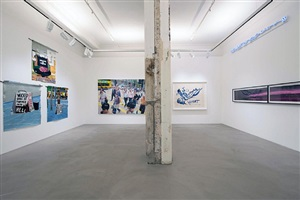 writing without borders: installation view
