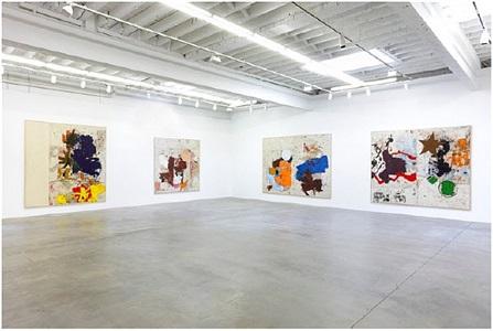 installation view by joe bradley