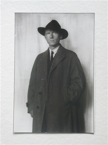 the painter otto dix by august sander