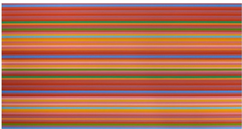 bridget riley die streifenbilder the stripe paintings by bridget riley