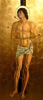 saint sebastian by giancarlo impiglia