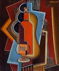 la bouteille orange by georges terzian