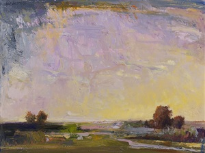 pink river (sold) by ira barkoff
