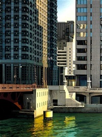 chicago river by enrique romero santana