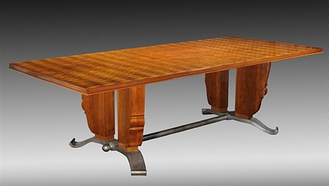 Grande table rectangulaire de salle manger en palissandre rosewood dining - Grande table rectangulaire ...