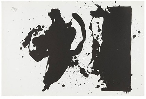 elegy study by robert motherwell