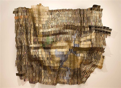 masters of the transvangarde by el anatsui