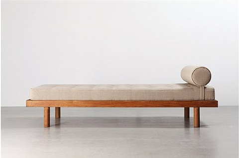 lit simple single bed by charlotte perriand - Lit Simple