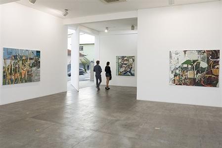 jardim | exhibition view at galeria fortes vilaça, 2013 by lucia laguna