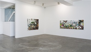 jardim | exhibition view at galeria fortes vilaça, 2013 by lucia laguna