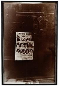ohne titel (missing children in new york) by walter dahn