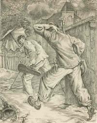 zigeuner im regen by ruth baumgarte