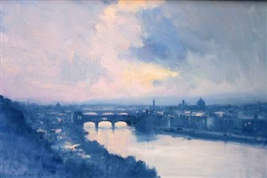 the colours of evening - florence by ian houston