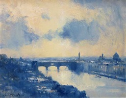a passing shower - florence by ian houston