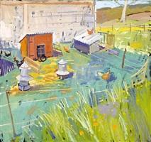 the hen run, loudon hill, ayrshire by glen scouller