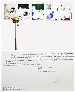 hypnos morose devant la tentative de fabrication du dodécaèdre par le « grand ange à face noire » by joël kermarrec