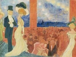 ballsaal / ballroom by marianne werefkin