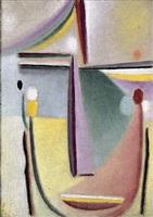 abstrakter kopf / abstract head by alexej jawlensky
