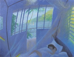 waking in the early morning light - bequia by nicholas hely hutchinson