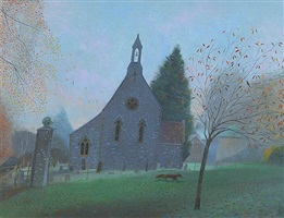 the little church at ashmore by nicholas hely hutchinson