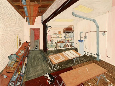 gesso room by sarah mceneaney