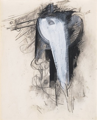 untitled (compass series) by jay defeo