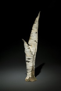 paper birch vase by eric serritella