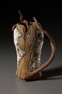 birch beer mug with vine by eric serritella
