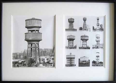 water towers by bernd and hilla becher