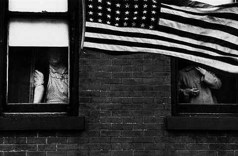 parade hoboken, new jersey by robert frank