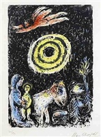 winter sun by marc chagall