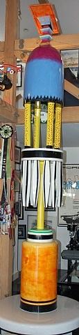 mythic turret #2 by ida rittenberg kohlmeyer