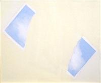 little painting (torn sky) by joe goode