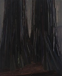 two trees by claire sherman