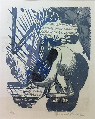in the vowels of vavoom by raymond pettibon