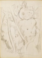 rocks and trees by marsden hartley