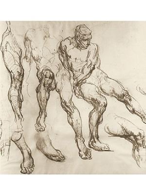 figure studies ii by george brandt bridgman