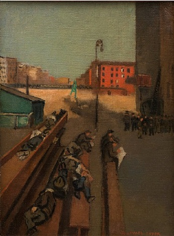 late afternoon by raphael soyer