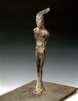 standing figure ii by nathan oliveira