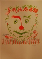 le clown by pablo picasso