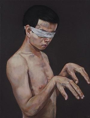 untitled n°28 by wang haiyang