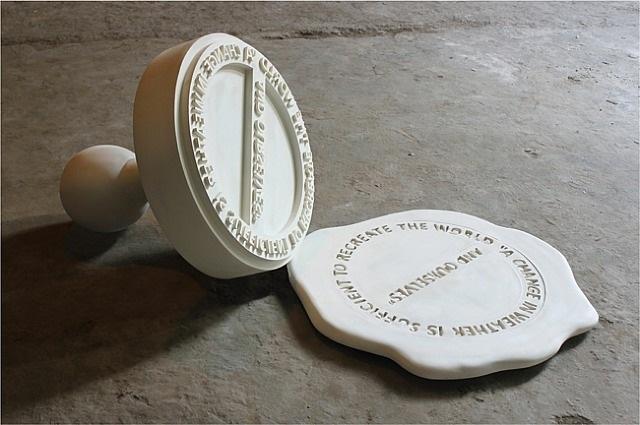 untitled rubberstamp by reena saini kallat