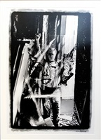warhol holding marilyn acetate by william john kennedy