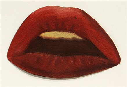 study for smoker #8 by tom wesselmann