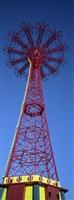 parachute jump-blue moon, coney island-brooklyn, ny usa by ron meisel
