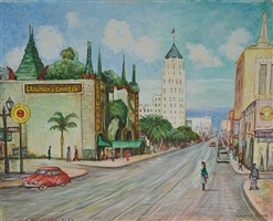 hollywood boulevard by maurice green