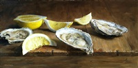 oyster trio (sold) by michael naples