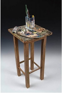 painter's table by richard shaw