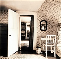 interior view of heliker/lahotan house, walpole, maine by walker evans